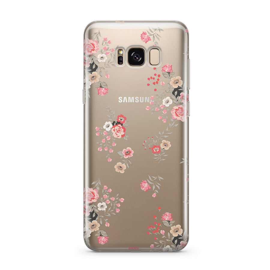 Ditsy - Clear Case Cover for Samsung