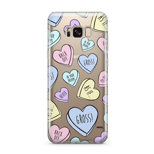 Heartbreakers (@okitssteph x @milkywaycases) - Clear Case Cover for Samsung