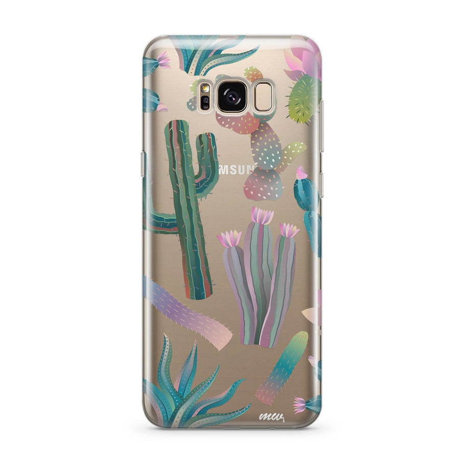 Desert Night - Clear Case Cover for Samsung - Milkyway Cases -  iPhone - Samsung - Clear Cut Silicone Phone Case Cover