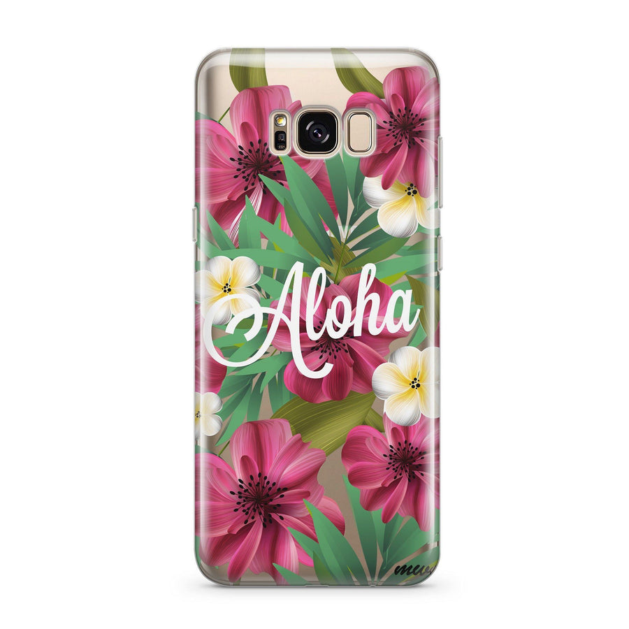 Aloha 2.0 - Clear Case Cover for Samsung - Milkyway Cases -  iPhone - Samsung - Clear Cut Silicone Phone Case Cover