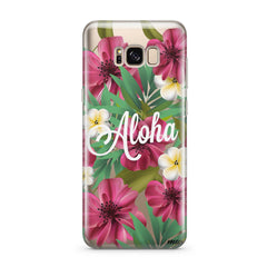 Aloha 2.0 - Clear Case Cover for Samsung
