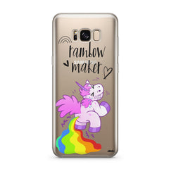 Rainbow Maker - Clear Case Cover for Samsung