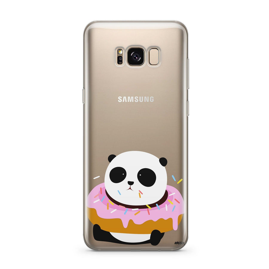 Pandonut - Clear Case Cover for Samsung - Milkyway Cases -  iPhone - Samsung - Clear Cut Silicone Phone Case Cover