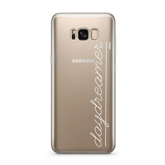 Daydreamer - Clear Case Cover for Samsung