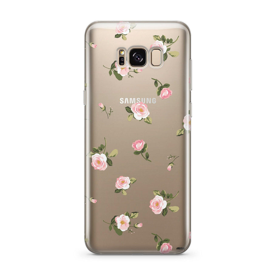 Blush - Clear Case Cover for Samsung - Milkyway Cases -  iPhone - Samsung - Clear Cut Silicone Phone Case Cover