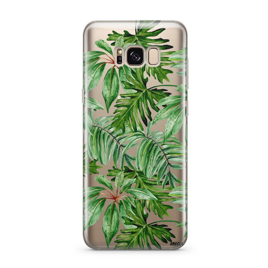 The Tropics - Clear Case Cover for Samsung - Milkyway Cases -  iPhone - Samsung - Clear Cut Silicone Phone Case Cover
