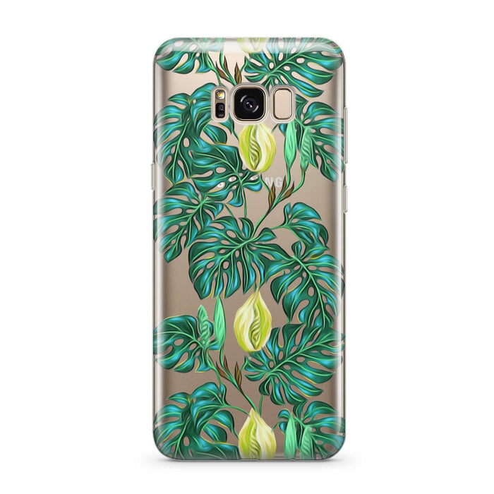 Monstera - Clear Case Cover for Samsung