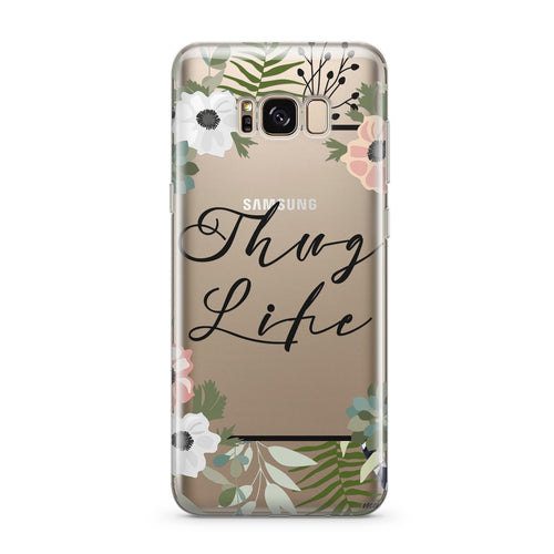 Thug Life - Clear Case Cover for Samsung