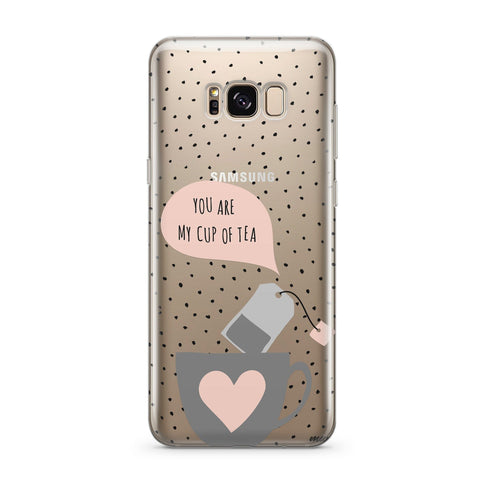 Chocolate Chip Cookie - Clear Case Cover for Samsung
