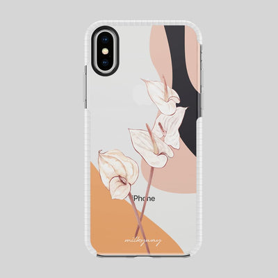 Tough Bumper iPhone Case - Anthurium