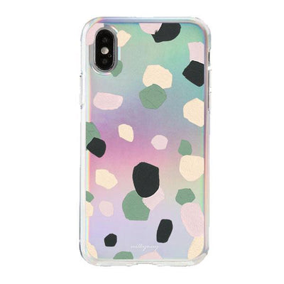 Holographic iPhone Case Cover - Abstract Confetti