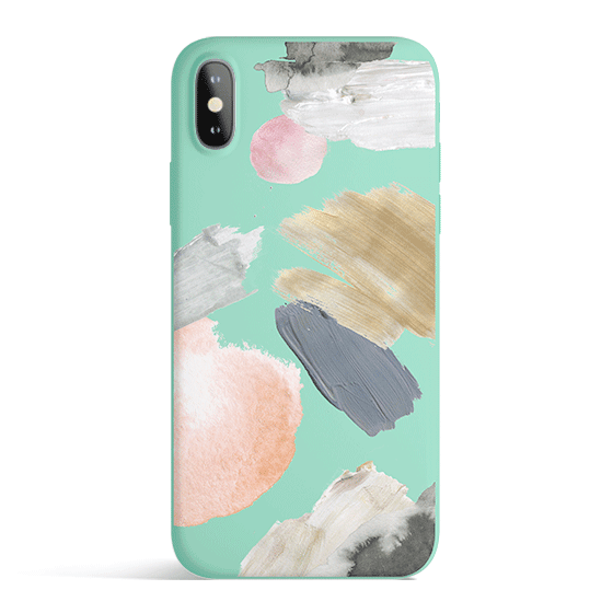 Abstract Party - Colored Candy Cases Matte TPU iPhone Cover