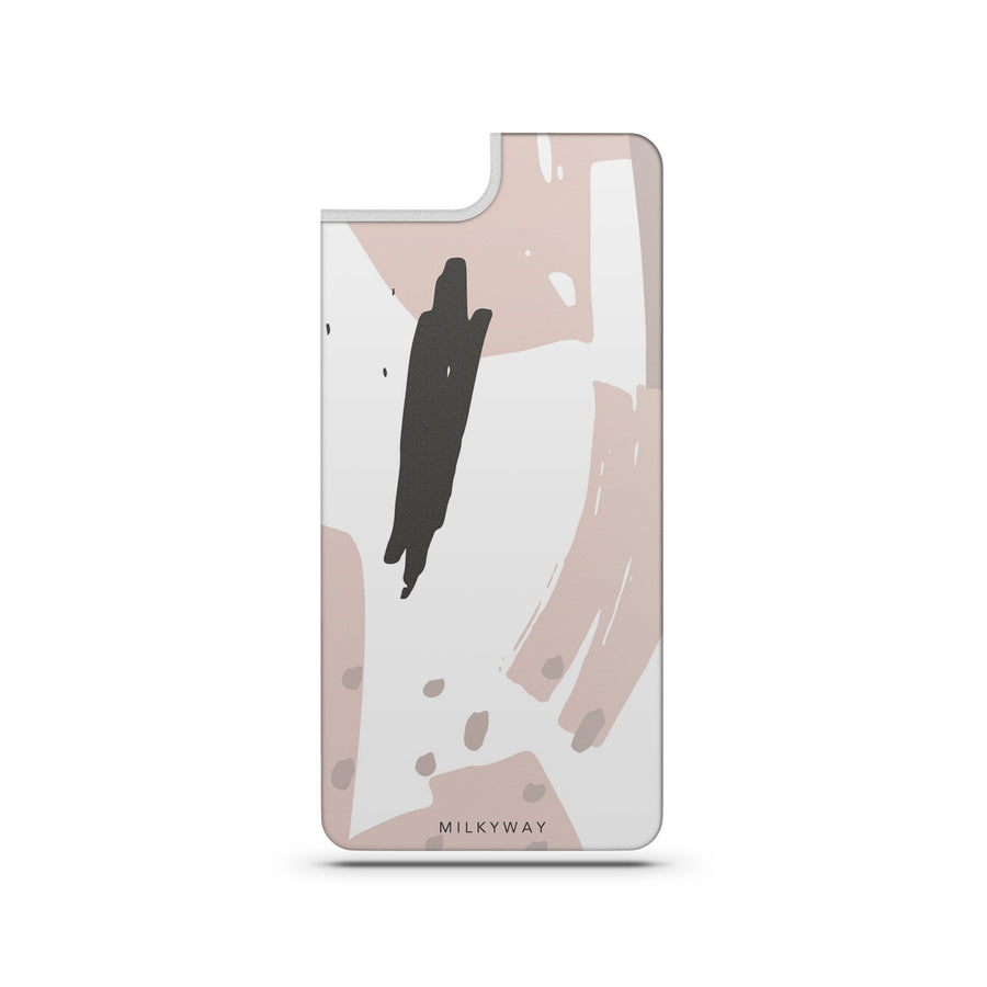 Abstract Blush - Slate Backplate