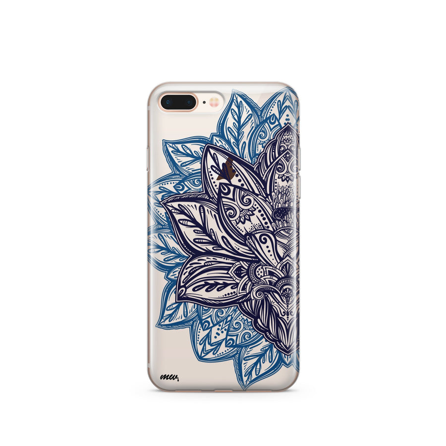 Alchemy Mandala - Clear Case Cover - Milkyway Cases -  iPhone - Samsung - Clear Cut Silicone Phone Case Cover