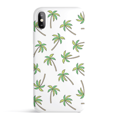 Aloha Trees - Colored Candy Cases Matte TPU iPhone Cover