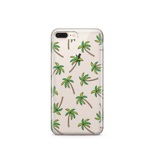 Aloha Trees' - Clear Case Cover