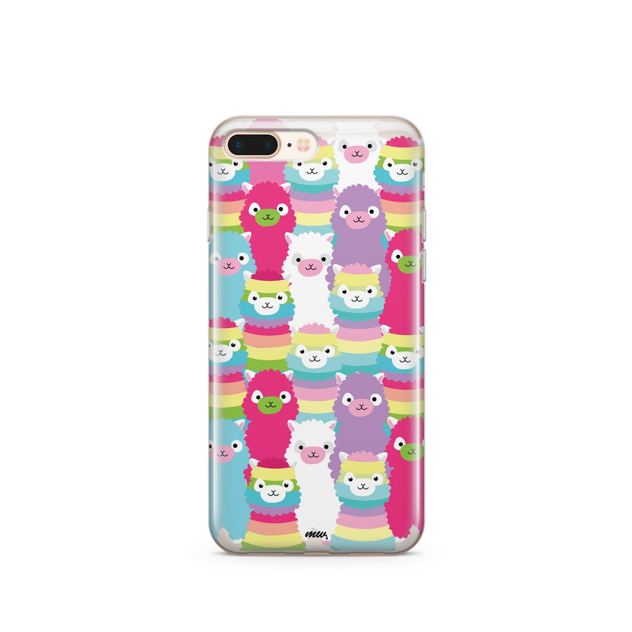 Alpaca Squad - Clear Case Cover