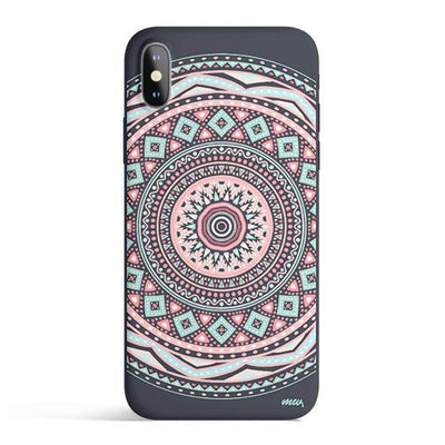 Anna Mandala - Colored Candy Cases Matte TPU iPhone Cover