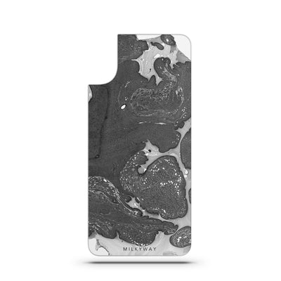 Asphalt- Slate Backplate - Milkyway Cases -  iPhone - Samsung - Clear Cut Silicone Phone Case Cover