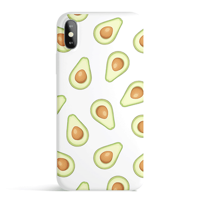 Avocado - Colored Candy Cases Matte TPU iPhone Cover