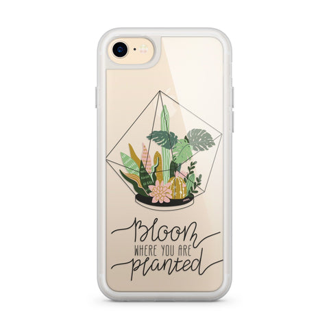 Premium Milkyway iPhone Case - Bloom Where You Are Planted