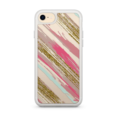 Premium Milkyway iPhone Case - Brush Strokes