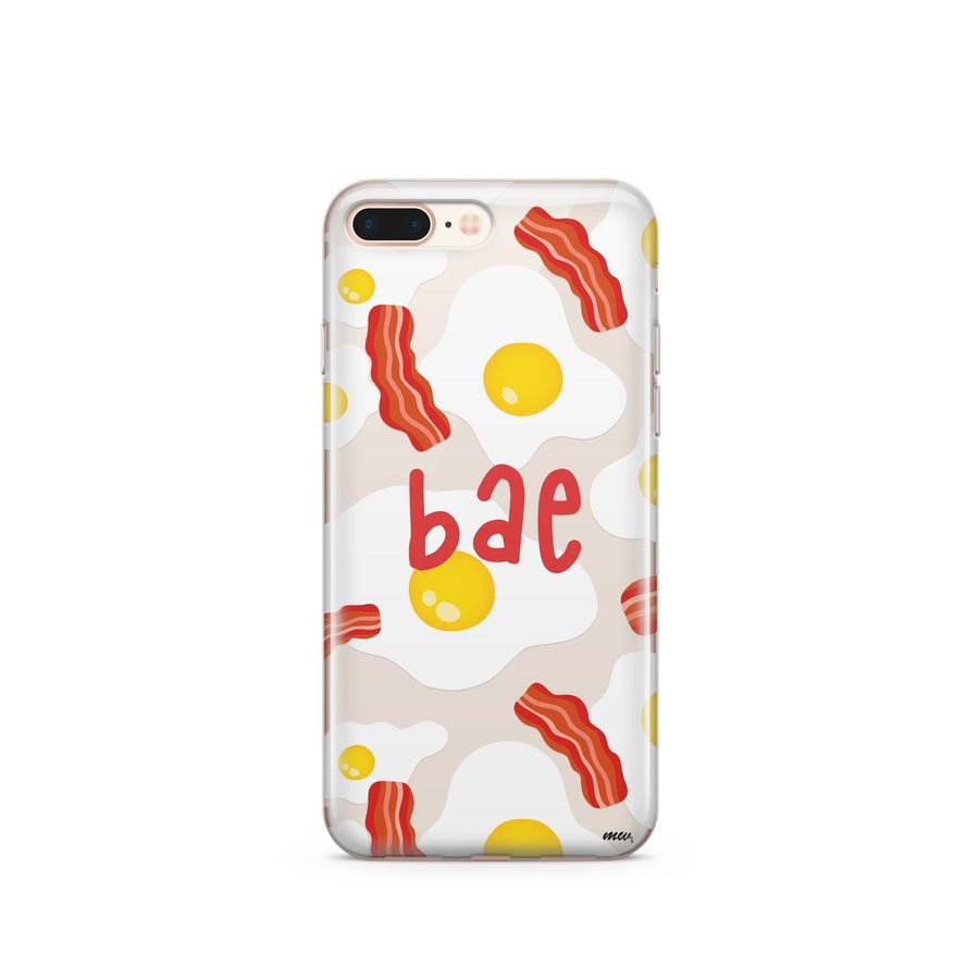 Bae - Clear TPU Case Cover - Milkyway Cases -  iPhone - Samsung - Clear Cut Silicone Phone Case Cover