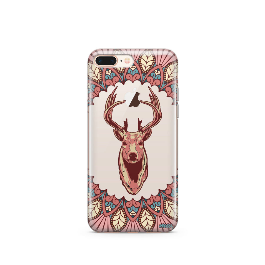 Beauteous Deer - Clear TPU Case Cover - Milkyway Cases -  iPhone - Samsung - Clear Cut Silicone Phone Case Cover