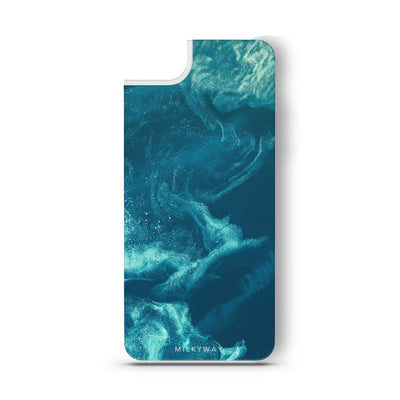 Blue - Slate Backplate - Milkyway Cases -  iPhone - Samsung - Clear Cut Silicone Phone Case Cover