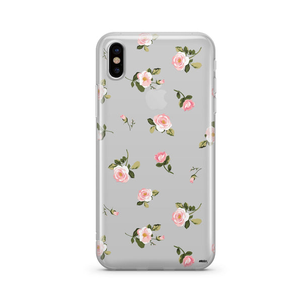 Blush - Clear Case Cover