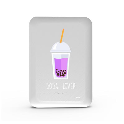 Boba Lover - 10,000 mAh Mini Portable Power Bank Charger