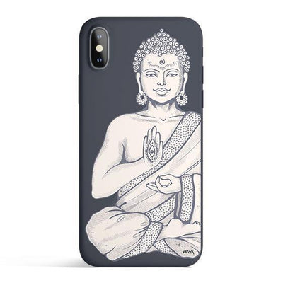 Buddha Hamsa - Colored Candy Cases Matte TPU iPhone Cover