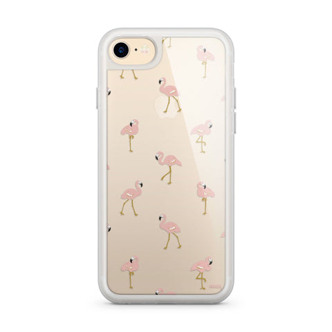 Premium Milkyway iPhone Case - Chillin Flamingo