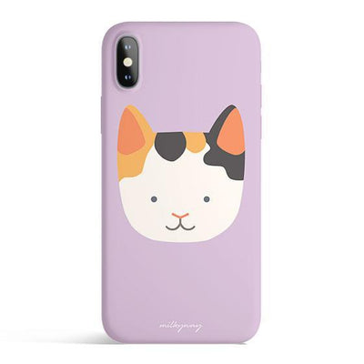 Calico Cat - Colored Candy Cases Matte TPU iPhone Cover