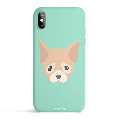 Chihuahua - Colored Candy Cases Matte TPU iPhone Cover