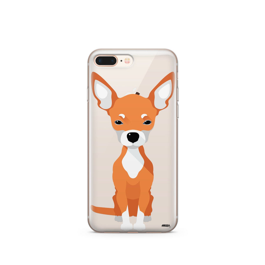 Chihuahua - Clear TPU Case Cover - Milkyway Cases -  iPhone - Samsung - Clear Cut Silicone Phone Case Cover