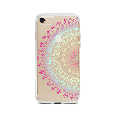 @Okitssteph X Milkyway Cases Cotton Candy Mandala - Clear Case Cover - Milkyway Cases -  iPhone - Samsung - Clear Cute Silicone Phone Case Cover