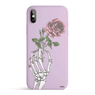 Crane Rose - Colored Candy Matte TPU iPhone Case Cover - Milkyway Cases -  iPhone - Samsung - Clear Cut Silicone Phone Case Cover