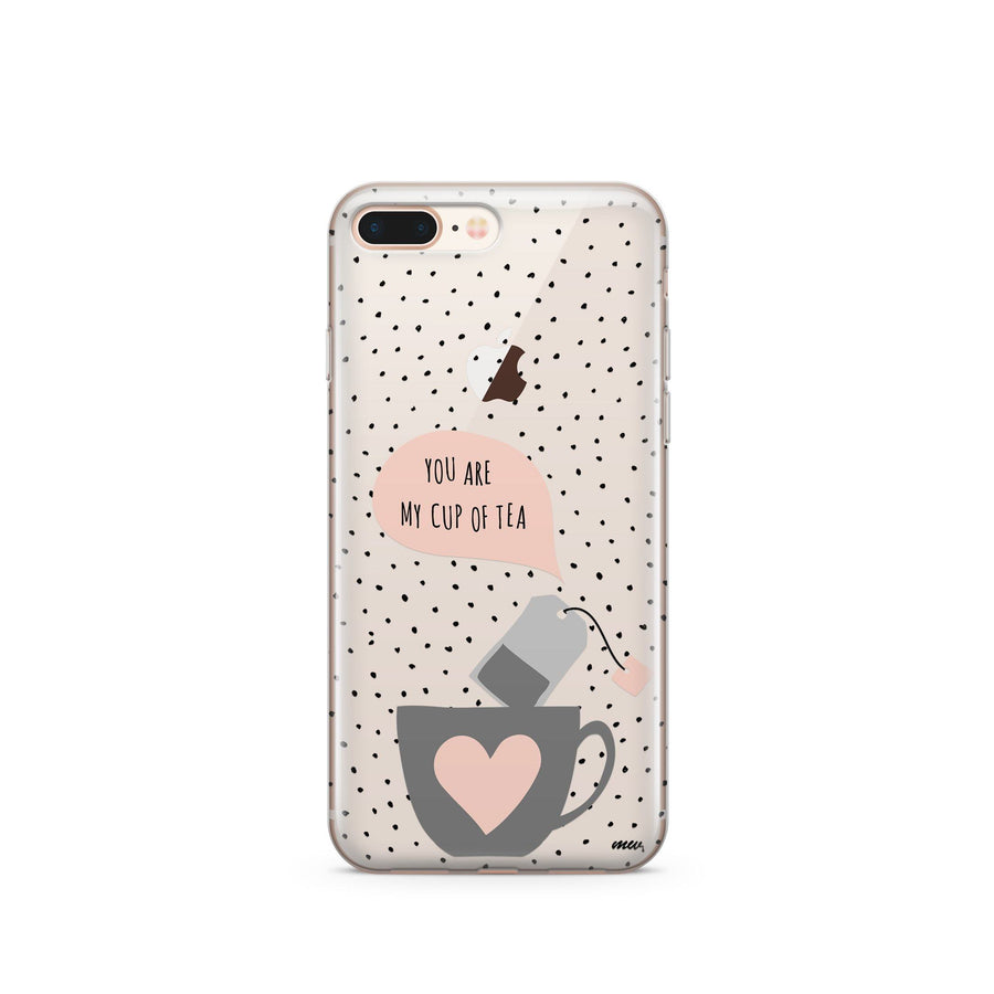 Cup Of Tea - Clear Case Cover