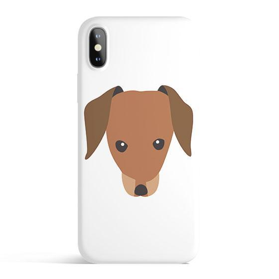Dachshund - Colored Candy Cases Matte TPU iPhone Cover