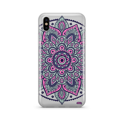 Dakota Mandala - Clear TPU Case Cover