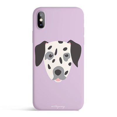 Dalmatian - Colored Candy Cases Matte TPU iPhone Cover