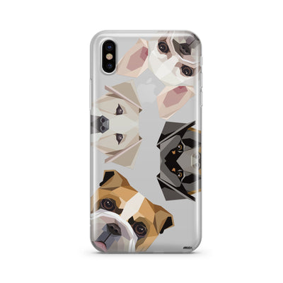 Dogs With Attitudes Clear TPU Case - Clear Cut Silicone iPhone Cover - Milkyway Cases