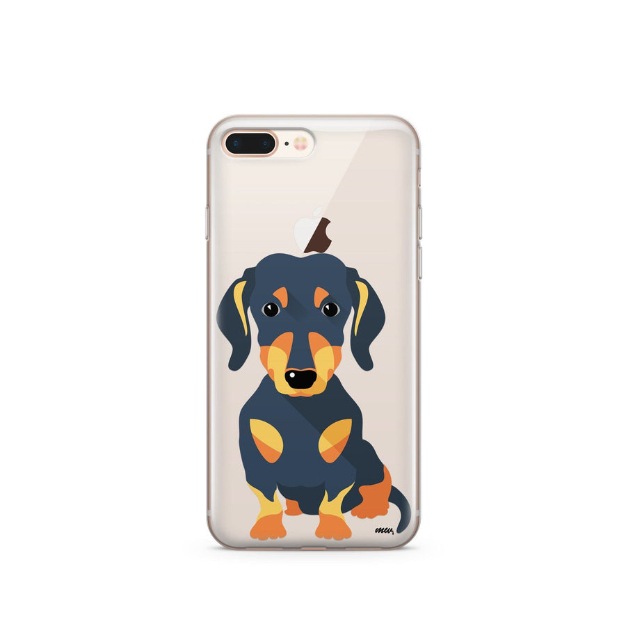 Doxie - Clear TPU Case Cover - Milkyway Cases -  iPhone - Samsung - Clear Cut Silicone Phone Case Cover