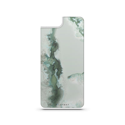 Emerald - Slate Backplate - Milkyway Cases -  iPhone - Samsung - Clear Cut Silicone Phone Case Cover