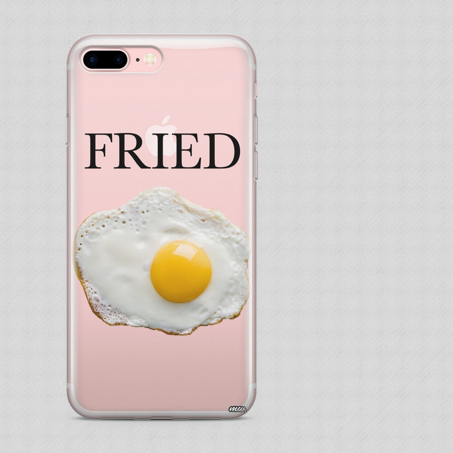 Fried' - Clear Case Cover