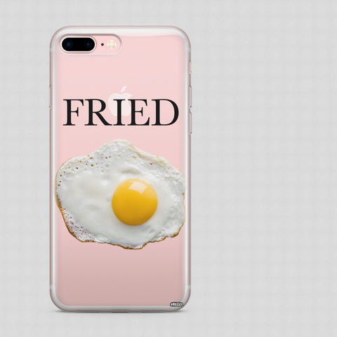 'Fried' - Clear TPU Case Cover