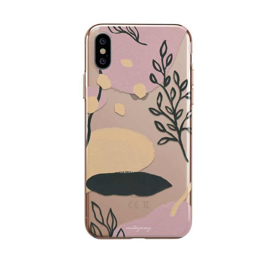 Fall Abstract iPhone XS Case Clear