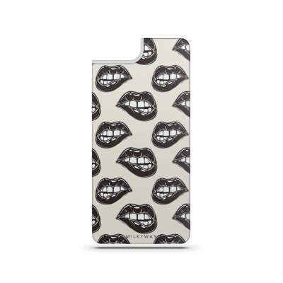Fatal - Slate Backplate - Milkyway Cases -  iPhone - Samsung - Clear Cut Silicone Phone Case Cover