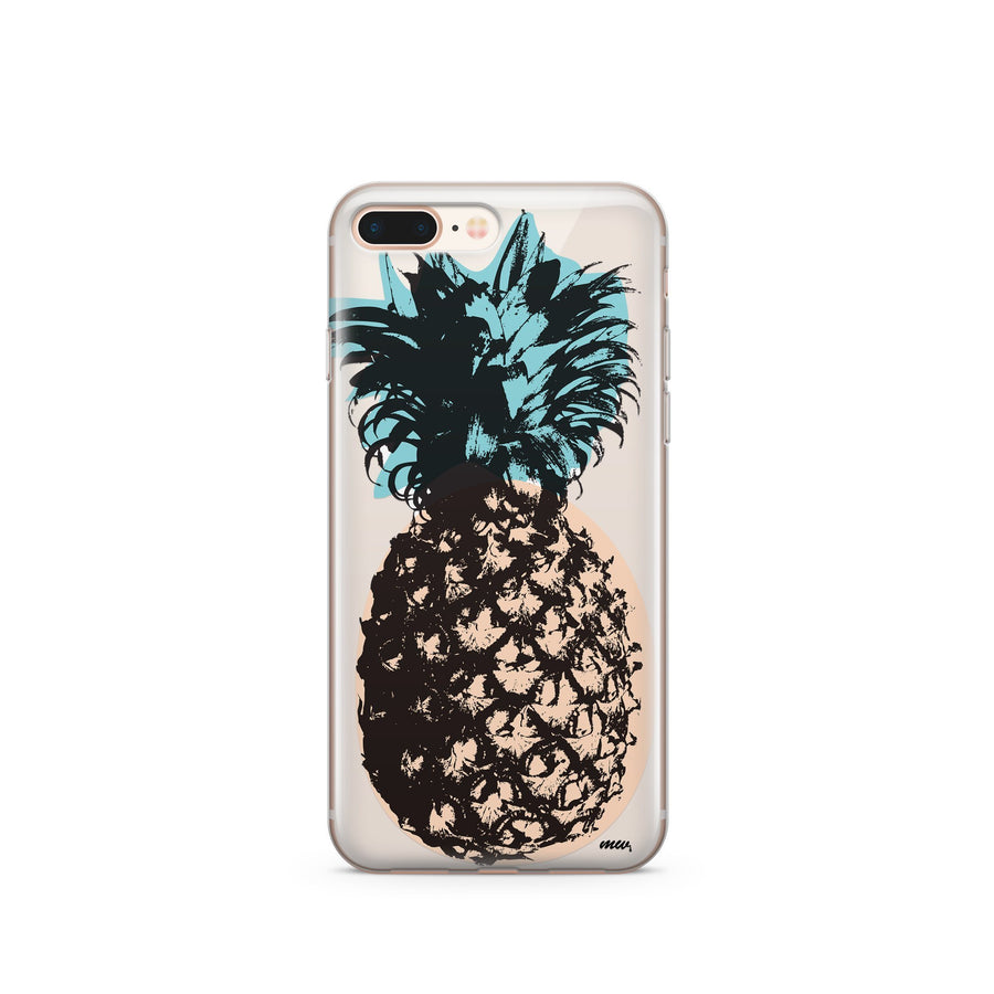 Fineapple - Clear TPU Case Cover - Milkyway Cases -  iPhone - Samsung - Clear Cut Silicone Phone Case Cover